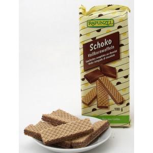 Gaufrettes complètes biologique au chocolat