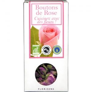 Fleurs à Croquer Bio, Boutons de Rose