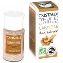 Cristaux d'huiles essentielles Bio Cannelle Florisens