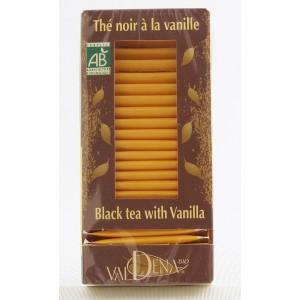 Thé noir bio à la vanille Valdena
